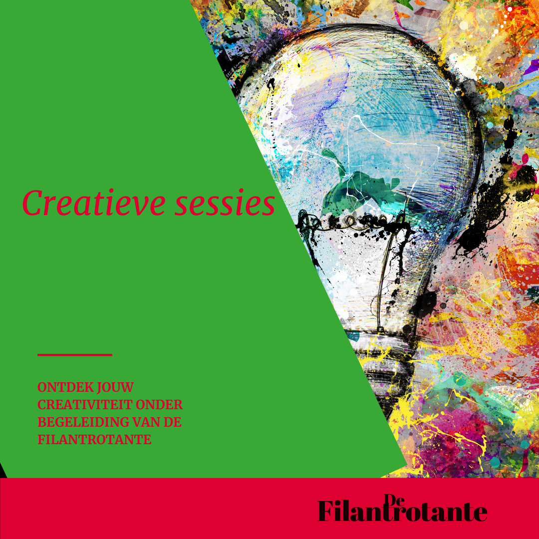creatieve sessie met fondsenwerver